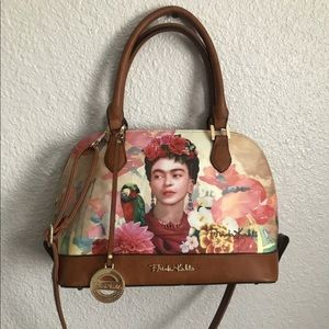 Frida Kahlo Satchel Handbag